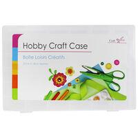 Medium Plastic Craft Storage Case
