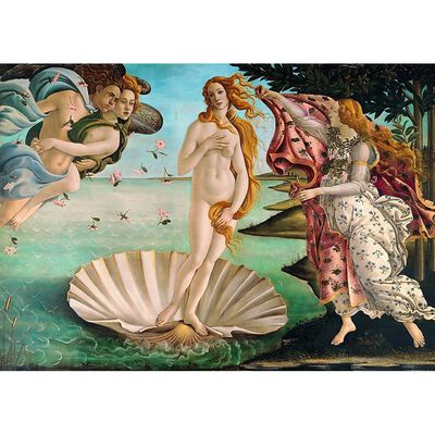 The Birth of Venus 1000 Piece Jigsaw Puzzle image number 2
