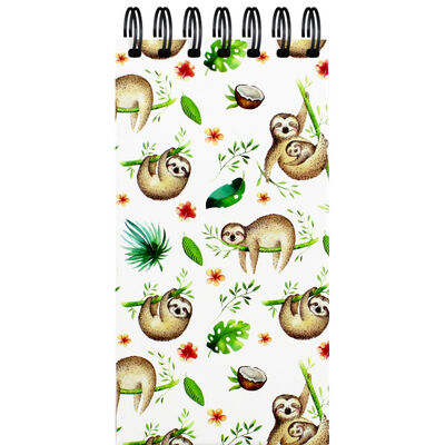 Sloth Long Wiro Notepad image number 1