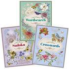 Floral Puzzle Book Bundle image number 1