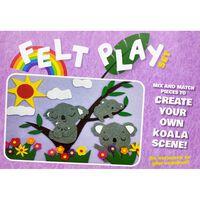 Koala Felt Play Set