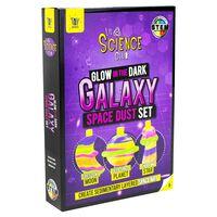 Glow in the Dark Galaxy Space Dust Set