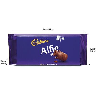 Cadbury Dairy Milk Chocolate Bar 110g - Alfie image number 3