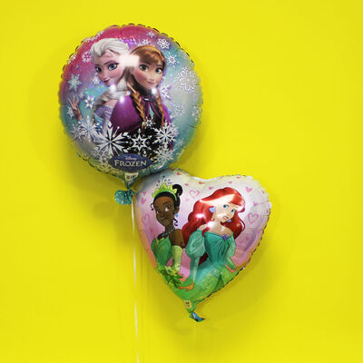 18 Inch Disney Princess Heart Helium Balloon image number 4