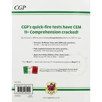CGP 11+ Verbal Reasoning Comprehension: 10 Minute Tests image number 3