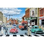 1960's High Street 1000 Piece Jigsaw Puzzle image number 2