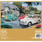 Vintage Cars 1000 Piece Jigsaw Puzzle image number 3