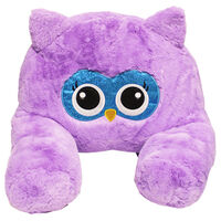 Purple Owl Plush Sofa Snuggles