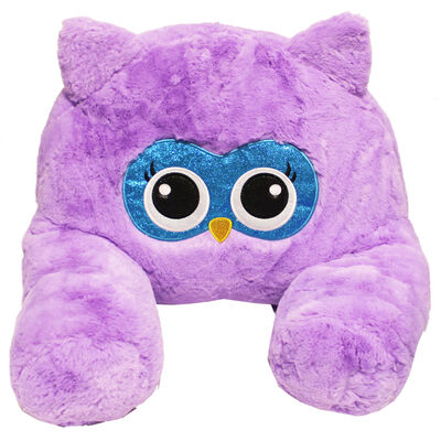 Purple Owl Plush Sofa Snuggles image number 1