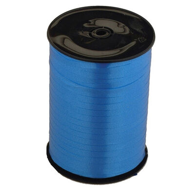 Royal Blue Balloon Curling Ribbon - 500m x 5mm image number 1