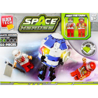 Block Tech Space Heroes Set image number 2