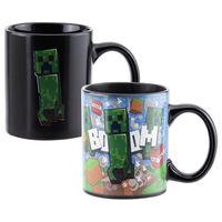 Minecraft Creeper Heat Changing Mug