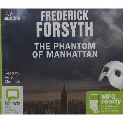 The Phantom of Manhattan: MP3 CD image number 1