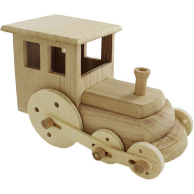 Decorate Your Own Wooden Train image number 1