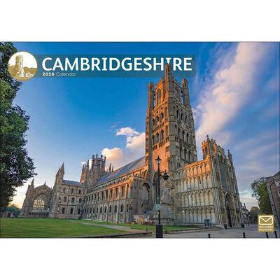 Cambridgeshire 2020 A4 Wall Calendar image number 1