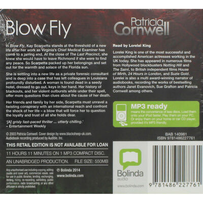 Blow Fly: MP3 CD image number 2