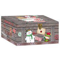 Santa's Workshop Christmas Boxes: Pack Of 3