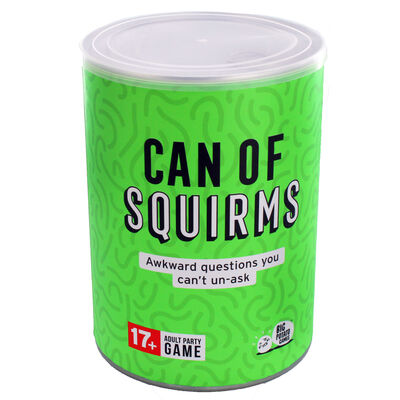 Can of Squirms Adult Party Game image number 1
