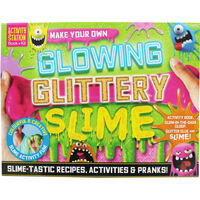 Make Your Own Glowing Glittery Slime