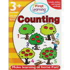 First Learning Counting Workbook: Pre-School image number 1