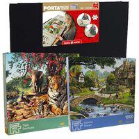 1000 Piece Jigsaw Puzzle Bundle