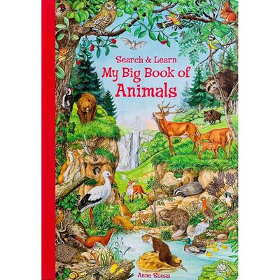 My Big Book Of Animals: Search & Learn image number 1
