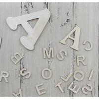 Wooden Alphabet Letters - Pack Of 162