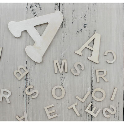 Wooden Alphabet Letters - Pack Of 162 image number 2