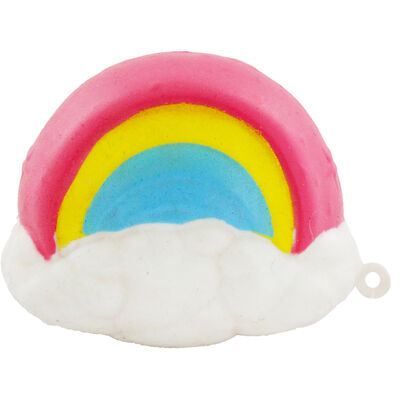 Rainbow Unicorn Squishy Slime Toy image number 1