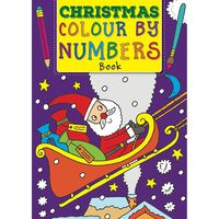 Christmas Colour By Numbers Book