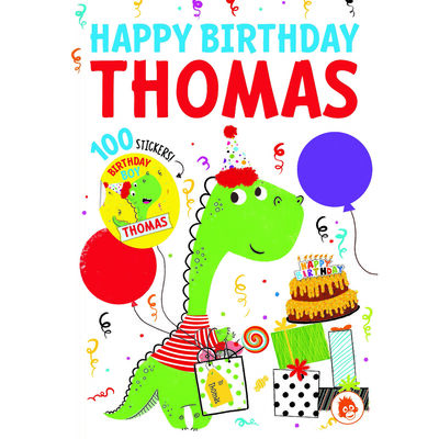 Happy Birthday Thomas image number 1