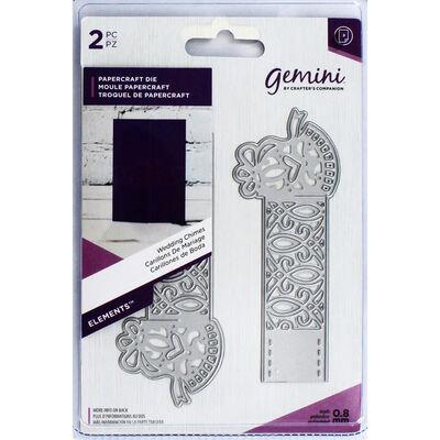 Gemini Elements Wrap Die - Wedding Chimes image number 1