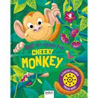 Cheeky Monkey Noisy Peep-Through Book image number 1