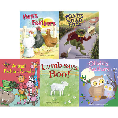 Animal Laughter: 10 Kids Picture Books Bundle image number 3