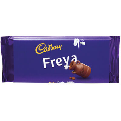 Cadbury Dairy Milk Chocolate Bar 110g - Freya image number 1