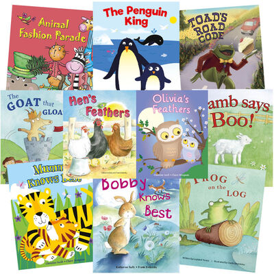 Animal Laughter: 10 Kids Picture Books Bundle image number 1