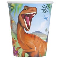 Dinosaur Paper Cups - 8 Pack