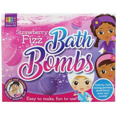 Strawberry Fizz: Bath Bombs image number 1