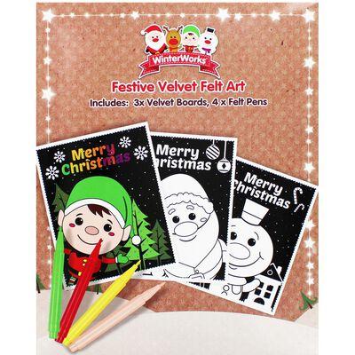 XMA20 Christmas Velvet Art Se image number 1
