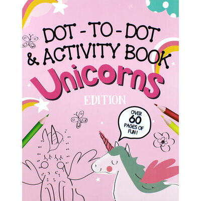 Dot-to-Dot and Activity Book - Unicorns Edition image number 1