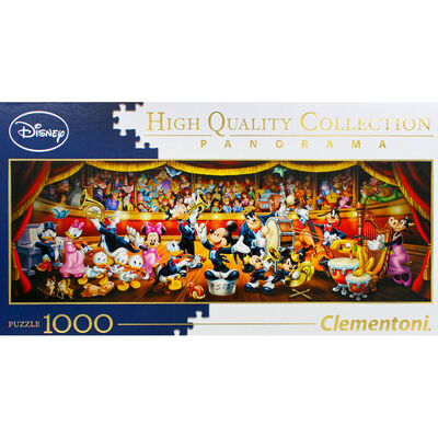 Disney Orchestra Panorama 1000 Piece Jigsaw Puzzle image number 2