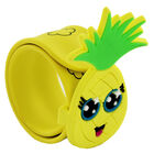 Pineapple Fruitopia Scented Snap Band Bracelet image number 1