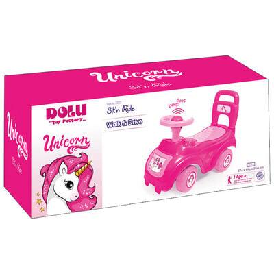 Sit 'n Ride On Car: Unicorn image number 2
