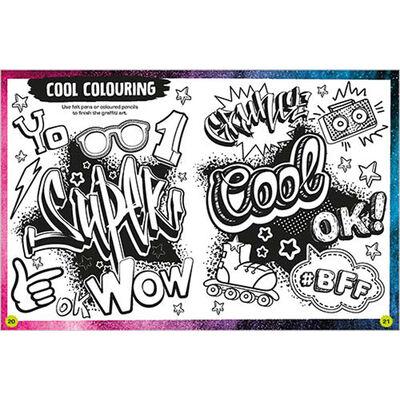 Scratch-Off Graffiti Art Kit image number 4