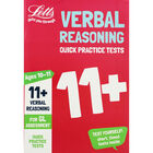 Letts Verbal Reasoning: Quick Practice Tests 11+ image number 1