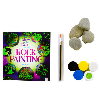 Glow in the Dark Rock Painting image number 2