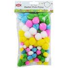 Easter Pom-Poms: Pack of 150 image number 1