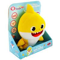 Doodle Me Yellow Baby Shark Plush