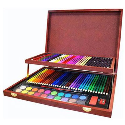 Complete Colouring and Sketch Studio with Field Sketch Book Bundle image number 3
