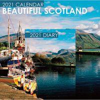 Beautiful Scotland 2021 Calendar and Diary Set